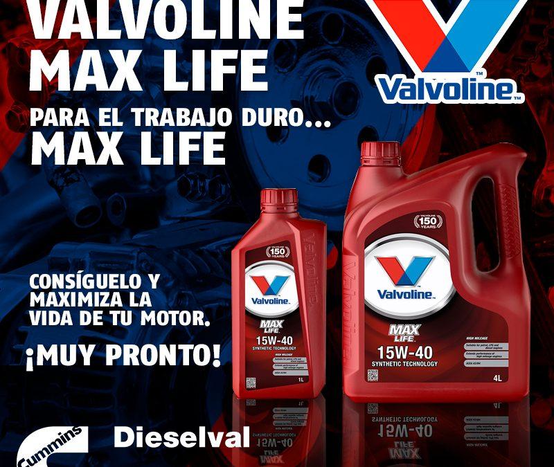 Max Life 20w50 de Valvoline