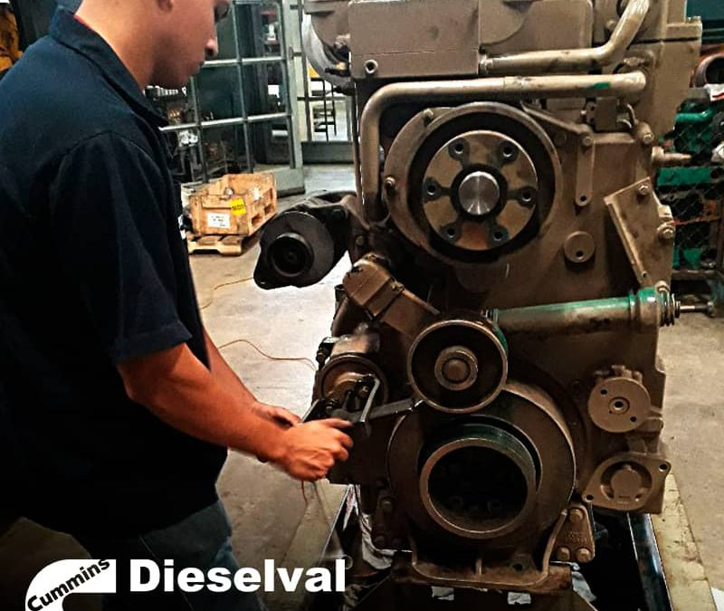 Repotenciación y mantenimiento de motores Cummins en Dieselval