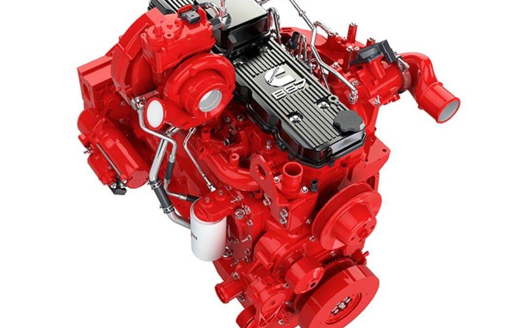 Motor Cummins B6.7 etapa cinco el más popular de todos