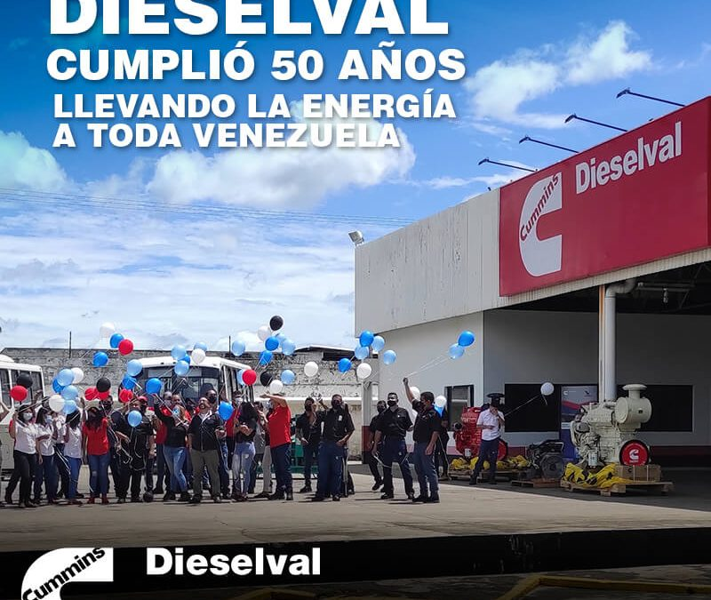 Dieselval cumplió 50 años llevando la energía a toda Venezuela